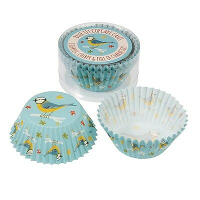 dotcomgiftshop SET OF 50 BLUE TIT PAPER CUPCAKE CASES MUFFIN CAKE CASES