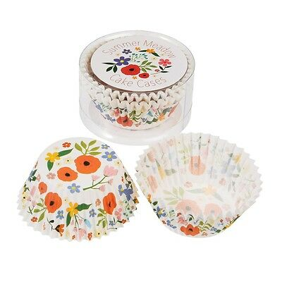 dotcomgiftshop SET OF 50 SUMMER MEADOW PAPER CUPCAKE CASES MUFFIN CAKE CASES