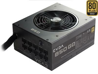 EVGA 850 GQ 210-GQ-0850-V1 80+ GOLD 850W  Semi Modular EVGA ECO Mode Power Suppl