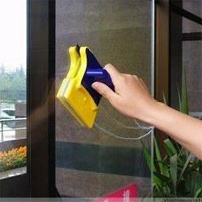Magnetic Window Double Side Glass Wiper Cleaner Cleaning Brush Pad Scraper GT