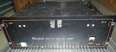 Vintage Randall RRM 2-250 Stereo Power Amplifier