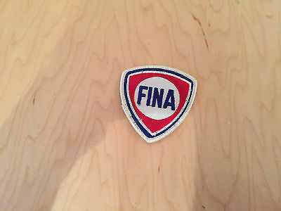 """fina ,patch 60's new old stock""""EMBROIDERED fina"""" SEW on"""