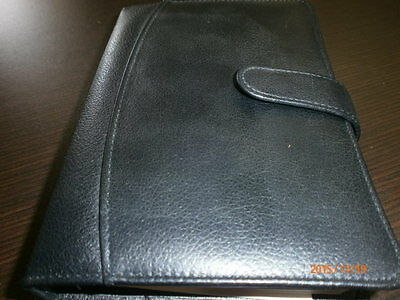 Buxton Leather 6 Ring Organizer Portfolio Agenda Planner Address Directory