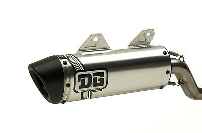 DG V2 Slip On Exhaust, Pipe , Muffler, Honda XR600R 071-2600