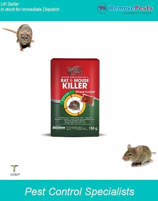 Rat killer mouse poison professional grade strong bromadilone kills rodents fast