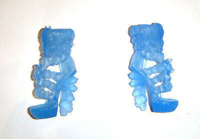 Monster High Doll Sized Blue Shoes/Heels For Monster High Dolls mh056