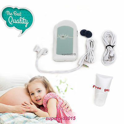 CE & FDA Fetal Doppler, baby heat beat voice Prenatal Heart monitor Pregnancy