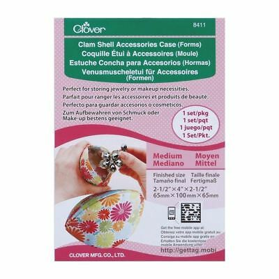 Clover Clam Shell Accessories Case Template - Choice of Sizes