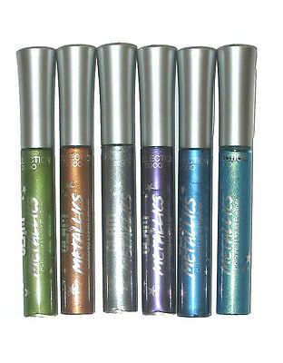 Collection 2000 Glam Metallics Liquid Eyeliner ~ Pick A Shade Silver Gold Purple