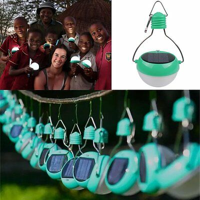 7-LED Solar Power Bulb Camping Hiking Hanging Rotatable Light Lamp Outdoor