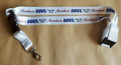 Northern Soul Lanyard, Keep The Faith Lanyard, Northern Lanyard, Scooter Lanyard