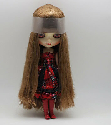 """Takara 12/"""" Neo Blythe Brown Hair Nude Doll from Factory TBO237"""