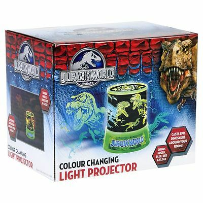 Jurassic World Star Explorer Night Light Projector Colour Changing Lamp Kids New