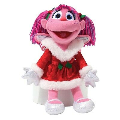 Sesame Street - Holiday Abby Cadabby Plush by GUND - *BRAND NEW*