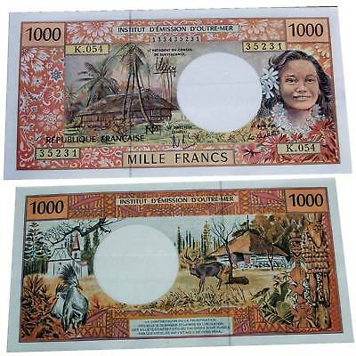 French Pacific Territories 1000 Francs 1996 Pick 2c / 34169547##