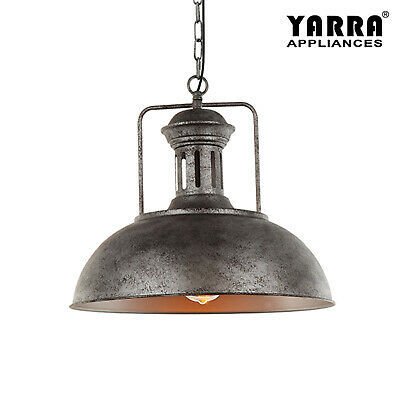 Industrial Vintage Pendant Light steel Lamp Base Classical Lighting Fitting Lamp