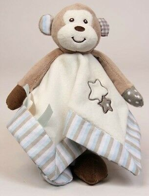 Baby Comforter Security Blanket Max the Monkey Toy by Alluring Baby Co Blankie