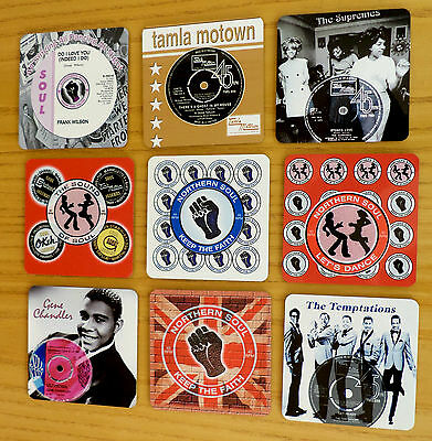 Northern Soul Fridge Magnets, Keep The Faith Fridge Magnets, Wigan The Torch