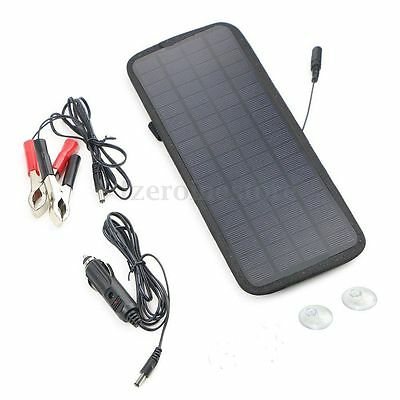 12V 4.5W Portable Power Solar Panel Battery Charger For Auto Car Boat Motorcycle