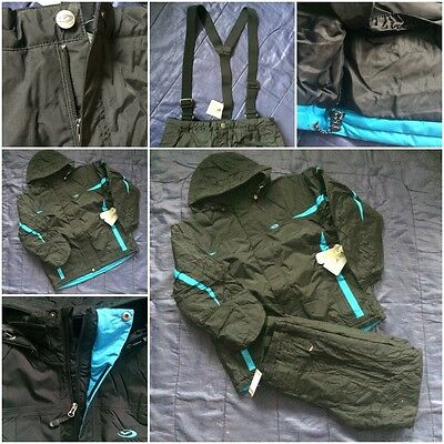Mens Five 5 Seasons Ski Set Jacket Sallopettes Pants Snowboard Suit Mans Snow