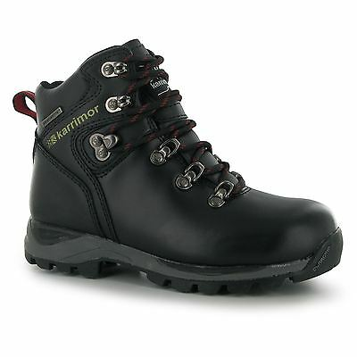 Karrimor Skido Walking Waterproof Hiking Boots Lace Up Junior Childrens