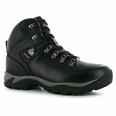 Karrimor Skido Walking Waterproof Leather Boots Lace Up Gents Mens