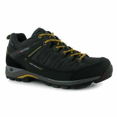 Karrimor Hot Rock Low Outdoor Trekking Hiking Walking Shoes Lace Up Gents Mens