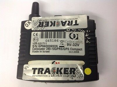 Cellocator 390-10GPRS/GPS Compact 9v-32v S/N:GP66000693N WITH Backup batteries