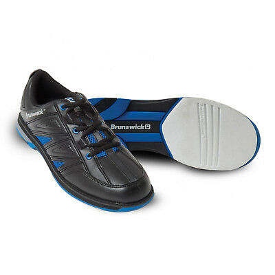 Bowlingschuhe Brunswick Warrior black royal, Herrenschuhe, Gr. 38,5 bis 46