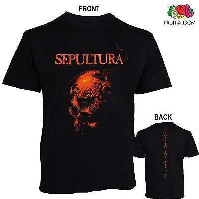SEPULTURA - Beneath the Remains,T_shirt-sizes:S to 6XL