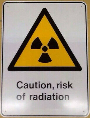 Metal - Risk of Radiation Sign - Fallout