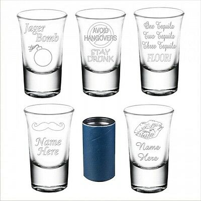 Engraved Novelty Shot Glass Granddaughter Godson Christmas Birthday Gift 084