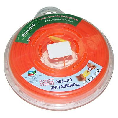 Brushcutter Strimmer Cord Line Square Profile 2.8mm, 60 M Metres 1/2 KG