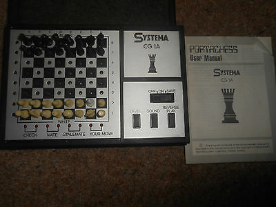 Portachess Systema Cg1A Complete With Manual