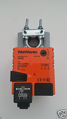 New Wattmaster OE282 HVAC Damper Actuator 24vac-dc 45in/5Nm