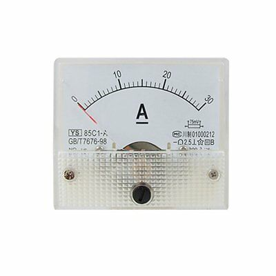 85C1-A Analog Current Panel Meter DC 30A AMP Ammeter