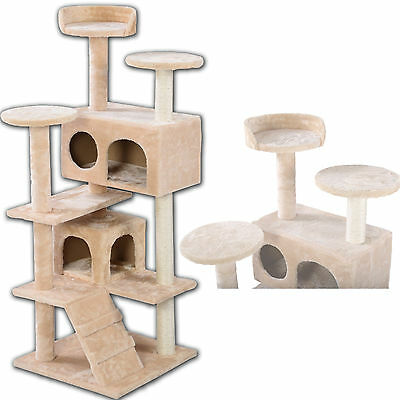 Cat Tree Tower Condo Furniture Scratch Post Kitty Pet House Play toy Bed Perch