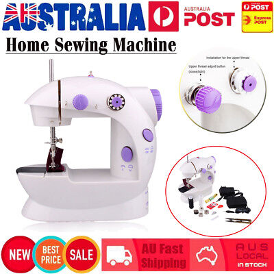 Electric Mini Multi-Function Portable Hand Held Desktop Home Sewing Machine NEW