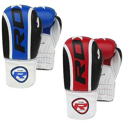 Authentische RDX 6oz Scherzt Boxhandschuhe Junior Boxsack Mitts Kinder Kick BR
