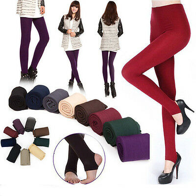 New Women Lady Thick Warm Winter Stockings Socks Stretch Tights Opaque Pantyhose