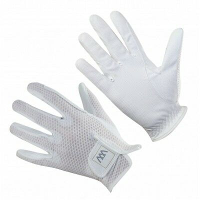 woof wear event glove size 9 white