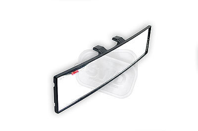 INCREASED VISION VIEW car rear view mirror learner interior CLIP ON LARGE angle