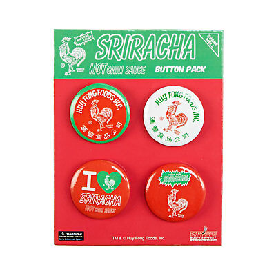 Huy Fong Foods Inc. Sriracha Button Pack