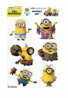 Despicable Me Minions Through Time Magnet Collection