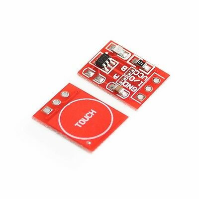 2Pcs TTP223 Capacitive Touch Switch Button Self-Lock Module for Arduino