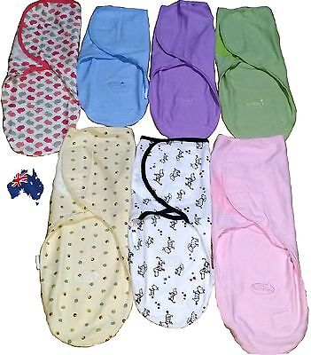 3-6 months old Baby Organic Cotton Summer SwaddleMe Blanket Wraps Sleeping Bag