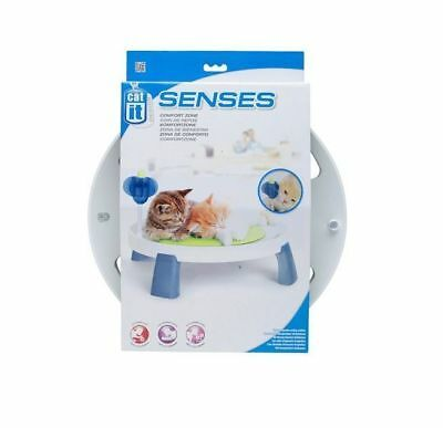 Catit Design Senses Cat Comfort Zone Kitten Massage Cushion Catnip Bed Toy 50724