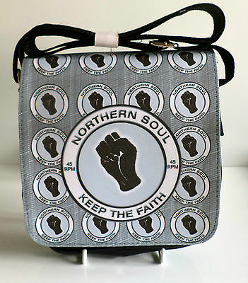 Northern Soul Purse Scooter Purse Wigan Ladies Northern Soul Night Owl Purse