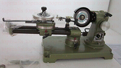 Round Saw Blade Grinder Mill sharpener for Wood table + 2pcs grinding wheels