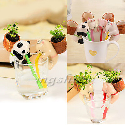 Planter Animal Self Watering Potted Plant Water Absorption Mini Creative Home